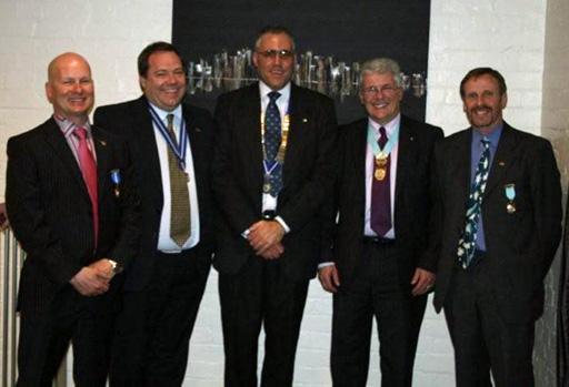 Dave Welch, Rob Westerman, Mark Elm, Shaun Brennan, Mark Shaw