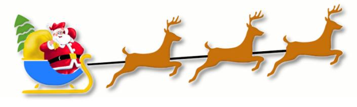 Santa Sleigh Route 2013