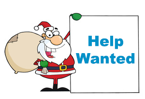 Christmas Help Wanted.Santa S Little Helpers Long Eaton Round Table