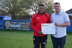 Donation to Long Eaton Football club
